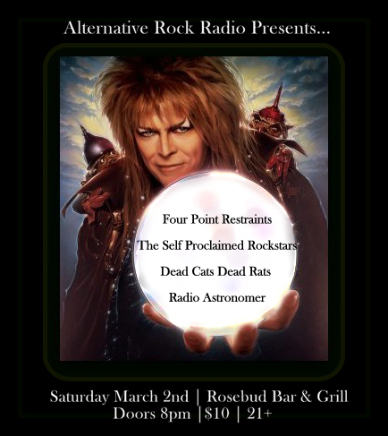 Alternative Rock Radio Presents March 2nd Rosebud