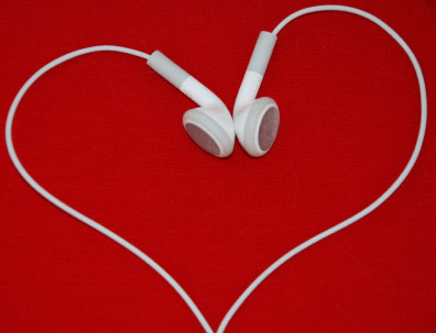 Headphones Heart